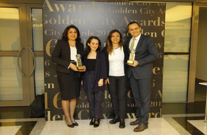 Golden City Awards 2016'da Ödüller Sahiplerini Buldu