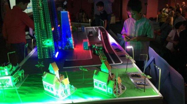 Akıllı şehir'i Üstün zekalı öğrenciler tasarladı
