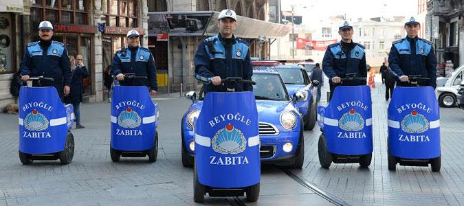 Beyoğlu Belediyesi Zabıta Ekipleri Karekod Teknolojisine Geçti